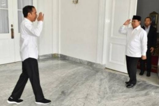Prabowo jadi Tamu Pertama Jokowi di 2020