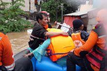 Banjir Jakarta 2020, Anak dan Lansia jadi Prioritas Evakuasi Tim BAZNAS