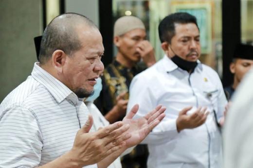 Dewas KPK Artidjo Alkostar Meninggal, LaNyalla: Beliau Sosok Panutan Luar Biasa