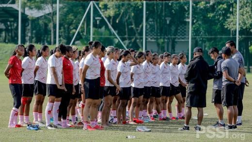 Timnas Wanita Tuntaskan TC, Rudy Eka: Rekam Kemampuan Penting