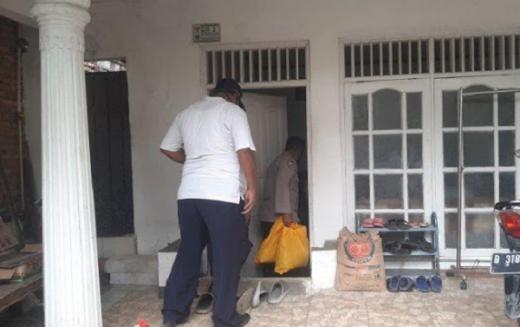 Zakia Tewas Ditembak Mati, Polisi Beri Bantuan Sembako ke Keluarga