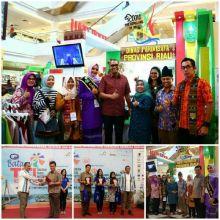 Alhamdulillah... Pemprov Riau Raih Juara Stan Terbaik di Batam TTI Expo 2017