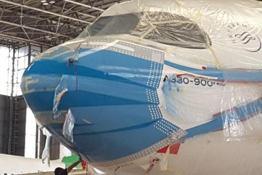 Livery Pesawat Bermasker Pertama di Indonesia, Layani Domestik dan Internasional