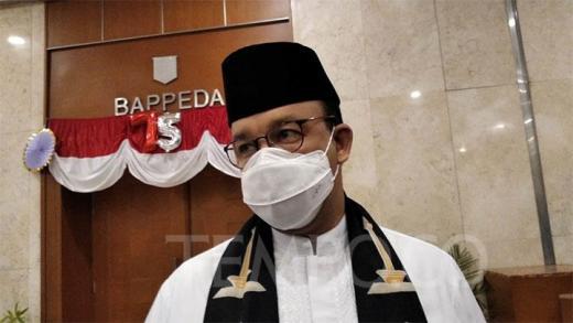 Positif Covid, Anies Baswedan Isolasi Mandiri