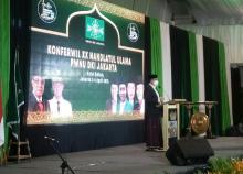 Buka Konferwil PWNU DKI, Anies Sebut NU Tetap Jadi Pengayom Persatuan Indonesia