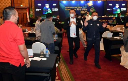 Ini Pesan Menpora Amali di Kongres PSSI Jatim Agar Sepak Bola Nasional Maju
