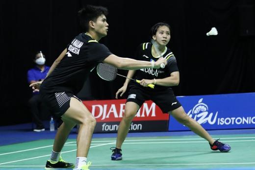 Bungkam Rehan/Lisa, Adnan/Mychelle Tembus Semifinal