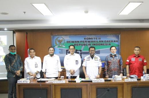 Sultan Najamudin: DPD Siap Bantu Bulog Teggakkan Tiga Pilar Ketahanan Pangan