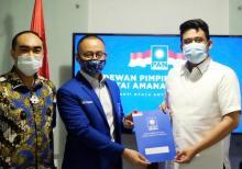 DPP PAN Resmi Dukung Bobby Nasution di Pilkada Medan