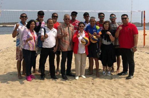 Tim Bola Voli Pantai Indonesia Incar Medali di World Beach Games 2019