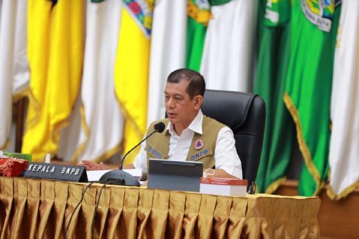 Kepala BNPB Sebut Daerah yang Gelar Pilkada Alami Penurunan Risiko Dampak Pandemi