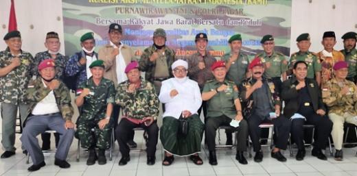 Peringati Hari Pancasila, Purnawirawan TNI-Porli Jabar Deklarasi Dukung KAMI