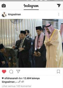 Wauw....Putra Riau Ini Kebagian Berkah Nongol di Akun Instagram Raja Salman, Siapa Dia?