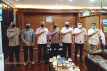 Kapolda Jabar dan Muspida Bandung Ditemui OC Piala Menpora 2021