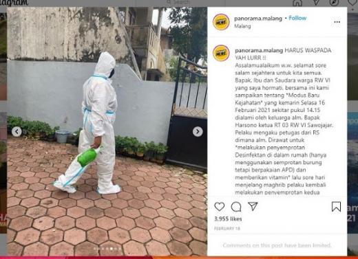 Viral... Nakes Gadungan Bawa Kabur Emas Batangan dari Rumah Pasien Covid-19