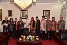 Terima Kunker DPD RI, Gubernur Dorong Pembangunan SDM dan Pemerataan Pendidikan