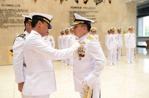 Tujuh Perwira Tinggi TNI AL Terima Bintang Kehormatan