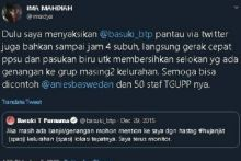 Ima PDIP, Kenang Ahok Pantau Banjir via Twitter