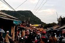 Cigobang jadi Kota Mati, Warga Mengungsi ke Hutan