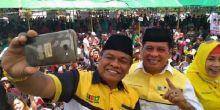 Kampanye di Bone, Nurdin Halid Janjikan Layanan Kesehatan Berbasis KTP