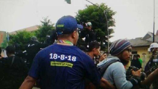 PWI Lampung Desak Polisi Usut Kekerasan Jurnalis di Jambi saat Liputan Obor Asian Games