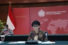 Menlu RI Tegaskan Indonesia Tak Akan jadi Basis Militer Negara Asing
