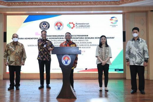 Terobosan Zainudin Amali Ikut Bantu Indonesia Keluar dari Resesi Ekonomi