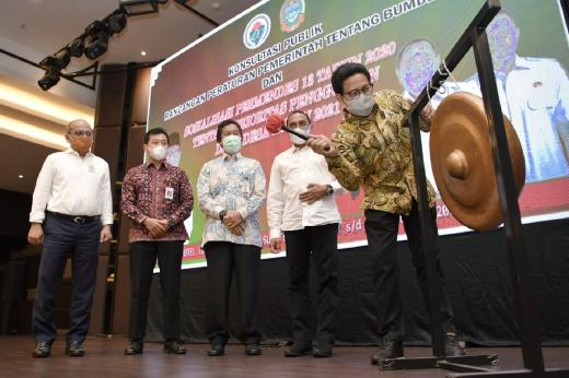 Mendes PDTT Sosialisasikan Aturan Dana Desa untuk SDGs Desa di Medan
