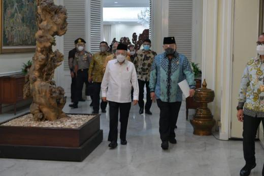 4 Wilayah Termasuk Tapanuli Layak Jadi Provinsi Baru, Ketua DPD Lapor ke Wapres