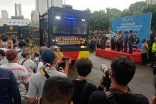 Jakarta Luncurkan Covid-19 Hunter di Polda Metro Jaya
