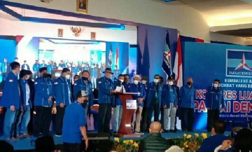 KLB Partai Demokrat Dibuka, Moeldoko Belum Terlihat di Lokasi