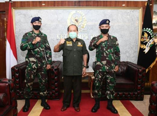 Syarief Hasan Ajak Masyarakat Teladani Dua Prajurit TNI AL yang Relakan Gaji dan THR untuk Beli Sembako