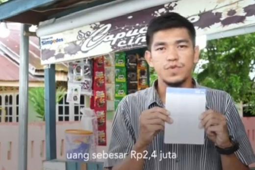 Terima Rp2,4 Juta, Pedagang Minuman Sampaikan Terima Kasih pada Pemerintah