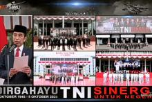 HUT TNI ke-75, Presiden Minta Pergeseran Belanja ke Investasi Pertahanan