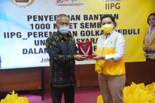 IIPG Meriahkan HPN 2021 Lewat Bantuan Sembako untuk Masyarakat