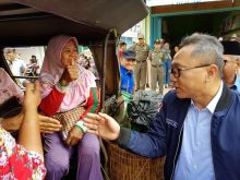 Safari Kebangsaan, Zulhasan Turun ke Pasar Dialog dengan Pedagang