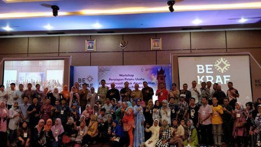 Bantu Ekonomi Kreatif Sumbar, Bekraf Gelar Pelatihan di Padang