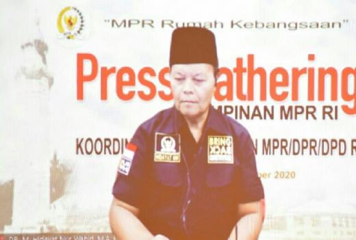 HNW Minta Empat Pilar MPR Dijadikan Rujukan Program dan Kampanye di Pilkada Serentak