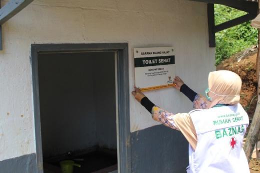 79 Persen Bantuan Toilet Sehat telah Dibagikan untuk Masyarakat