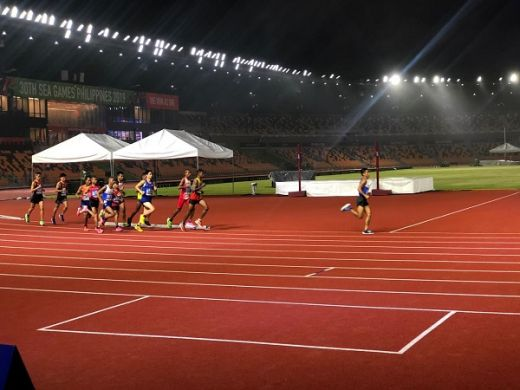 Juarai Marathon, Agus Prayoga Sumbang Emas Pertama di Atletik