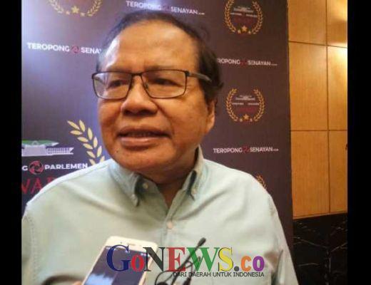 Hadir di Teropong Senayan Award, Rizal Ramli Singgung Ribut di Pilpres