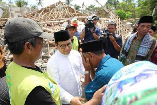 Cak Imin: Percepat Pembangunan Infrastruktur Bagi Korban Gempa Lombok