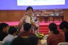 Cara Lestari Moerdijat Sosialisasikan Empat Pilar ke Milenial Terdidik