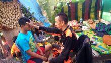 Pulihkan Trauma Korban Gempa, MPC PP Pasuruan Kirim Tim Trauma Healing ke Lombok
