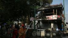 Demo Ricuh, Dua Sepeda Motor dan Kafe di Malioboro Yogyakarta Terbakar