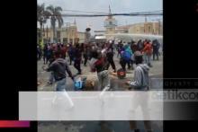 Jebol! Massa Tangerang ke Jakarta, Polisi: Kita Nggak Kuat