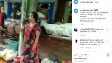 Viral Emak-emak Marahi Petugas di Pasar: Corona Cuma akal-akalan Pemerintah