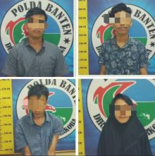 Salahgunakan Narkoba, Ditresnarkoba Polda Banten Amankan 3 Laki-laki dan 1 Perempuan