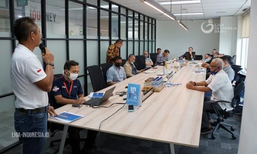 PT LIB Terus Koordinasi dengan PSSI
