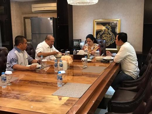 Jamuan Makan Malam dengan Puan, Pimpinan DPD RI Minta Hasil Kinerja Lembaganya Ditindaklanjuti DPR